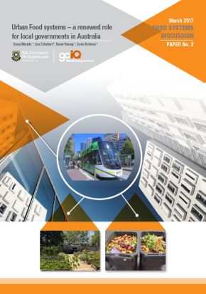 Urban food systems: a renewed role for local governments in Australia